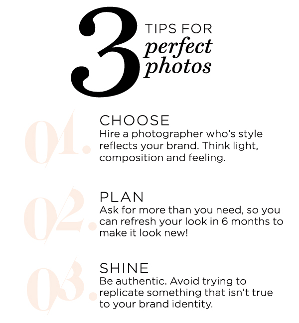 3 tips for the perfect photos