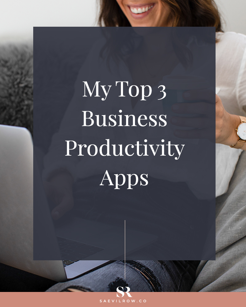 My top 3 business productivity apps